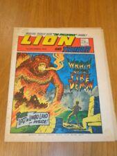LION & THUNDER 1ST DECEMBER 1973 BRITISH WEEKLY COMIC FLEETWAY^