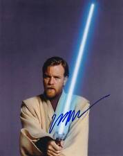 Ewan McGregor In-person AUTHENTIC Autographed Photo COA Star Wars SHA #69601