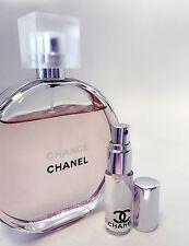 CHANEL CHANCE Eau Tendre Toilette EDT Perfume Glass Spray Travel SAMPLE ~ 5ml