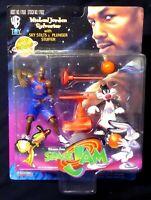 Space Jam Michael Jordan + Sylvester Cat  AF Set New 1996 Movie  Amricons