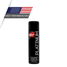 Wet Platinum Luxury Silicone Base Lube, 9 oz Bottle Personal Lubricant