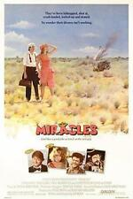 """MIRACLES 27""""x41"""" Original Movie Poster One Sheet 1986 Rolled Teri Garr Tom Conti"""