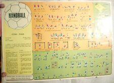 poster Handball pallamano - CONI F.I.G.H. aaa