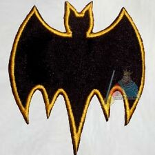 Batman Adam West TV Serie Batsign Embroidered Patch Logo 1966 Robin Batmobile
