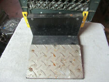 1 yellow TIME CRISIS 3  foot pedal assembly  arcade game part cfl-1