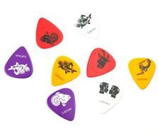 24Pcs Medium 0.81mm Constellation Print Guitar Picks Plectrums Acoustic Guitar