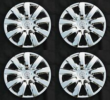 "Set (4pcs) 15"" CHROME Rim Wheel Cover Hubcap for 2000-2016 Toyota Wheelcovers"