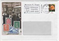 germany 2010 weimarer republic 1919-1932  stamps cover ref 20690