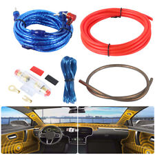 Edge Amplifier Wiring Kit 10 AWG For Car Audio Speakers Subwoofer / Amp