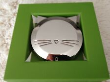 Lenox~Kate Spade~Silver Wit Coasters, Set of 4~SilverPlate~Nib