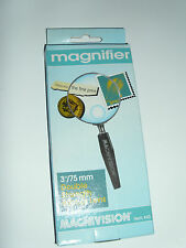 "New Magnivision Magnifier 3"" 75mm Magnification w/ Double Strength Bifocal Lens"
