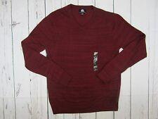 Rock  Republic Maroon Vneck Long Sleeve Shirt Mens Sz Large Nwot