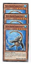 YuGiOh 3 MECHA DRAGON MARINO PLESION ABYR-SP033 Yu-Gi-Oh! EN033 x3 Español