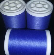 Coats & Clark XP Polyester Sewing Thread Lot 3 spools 250 yd ea PERIWINKLE BLUE