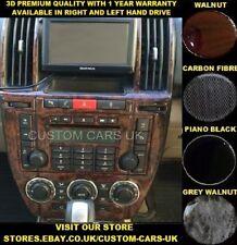 LAND ROVER FREELANDER 2 LR2 L359 2006-2014 Dash Kit - Walnut-Carbon-Piano Black