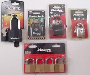 Master Lock Excell Padlock Ex Series Fusion 2 196DSN 7804EURD 140EFGQNOP