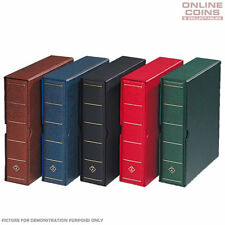 Lighthouse Vario G Large Binder / Slipcase GREEN - For Banknotes and Stamps