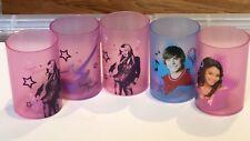 Disney High School Musical & Hannah Montana Tea-lights, 5 Plastic Tea-light Cups