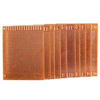 10PC 5x7cm DIY Breadboard Universal Printed Circuit Panel Board Prototype PCB GH