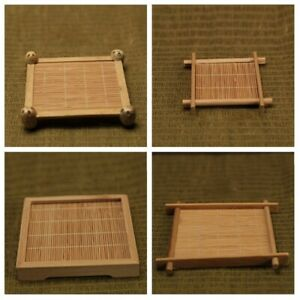 Square Tea Cup Pad Coaster Kitchen Cafe Dish Bamboo Table Placemat Pot Mat