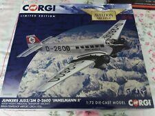 Corgi Aviation 1/72 Junkers Ju52/3m D-2600 'Immelmann II' Hitler Airport-AA36909