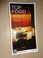 GUIDA TOP FOOD SOLE 24 ORE OTTIMI RISTORANTI ITALIANI TOURING CLUB ITALIANO