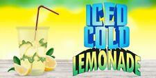 Ice Cold Lemonade Vinyl Horizontal Banners Choose A Size Carnival New