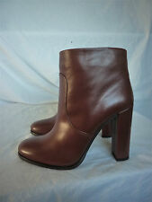 BNIB NEW PRADA DONNA CALZATURE LUXE BROWN LEATHER ANKLE BOOTS SIZE 39 UK 6 £795