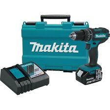 "Makita XPH102 18V Cordless Li-Ion 1/2"" Drive Hammer Drill Driver Kit"