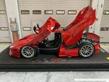 Ferrari FXX-K Evo Rosso Corsa + Vitrine OVP Die Cast Metall BBR 182277DIE 1:18