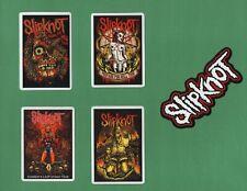 SLIPKNOT STICKERS HEAVY METAL Thrash SPEED sludge 90s 00s Alternative NU Groove