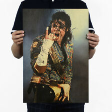 Michael Jackson's nostalgic star poster paper  Decoration14*20 in