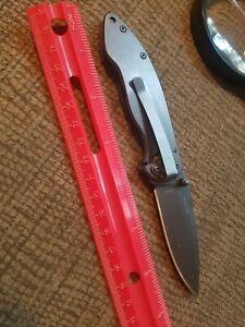 $1.99 Browning medium folding knife . Gunmaker quality.