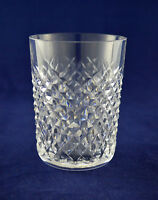 """Waterford Crystal """"ALANA"""" Whiskey / Tumbler Glass – 9cms (3-1/2″) Tall"""