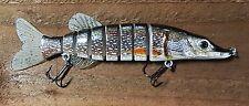 JACK PIKE 8'' (200mm) Cannibal Swimbait Fishing Lure 1st UK SELLER