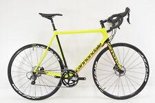 2017 Cannondale Super Six Evo Ultegra Disc Road Bicycle Size 58cm Carbon Fiber