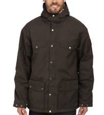 Fjallraven Mens Mountain Grey Greenland Winter Jacket Sz M 3506