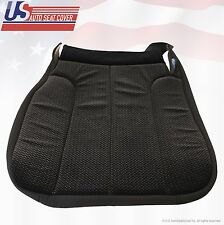 2004 Dodge Ram 1500 SLT Driver Bottom Replacement Cloth Seat Cover Dark-Gray
