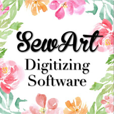 Sew Art Software For Windows & Machine Embroidery digitizer sew art For windows