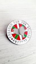 Solidarity With The Basque Country Enamel Pin Badge - Irish Republican Socialist
