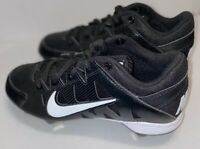 Nike Hyperdiamond Strike Softball Cleats Metal Black 684696-010 Womens Size 6.5
