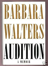 AUDITION- ABC/ THE VIEW BARBARA WALTERS SIGNED 1ST HB-VERY GOOD CONDITION