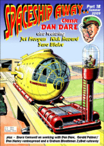 Spaceship Away Dan Dare #18