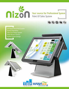 """All-in-One POS with 15"""" Touch Screen"""