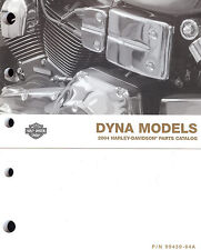 2004 HARLEY-DAVIDSON DYNA PARTS CATALOG MANUAL -NEW SEALED-FXD-FXDL-FXDX-FXDWG
