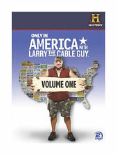 Only in America with Larry the Cable Guy, Vol. 1 (DVD, 2011, 2-Disc Set)