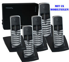 5'er SET Swisscom Trend C140 Mobilteil Ladeschale+Basis DECT schnurlos Telefon