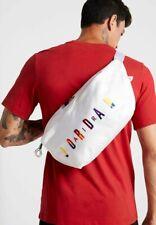 Nike Air Jordan Rivals Waistpack Bag Large White Crossbody Large Bum Fanny Pack