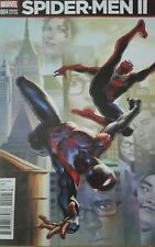 Marvel Comics SPIDER-MEN II #4 first printing variant cover B SDCC COMIC CON