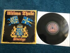 """Ultima Thule """"Sverige"""" Vinyl Viking Rock LP Oi Punk Skinhead Rock"""